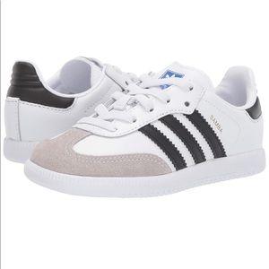 Adidas Kids Samba Sneakers Size 3.5Y